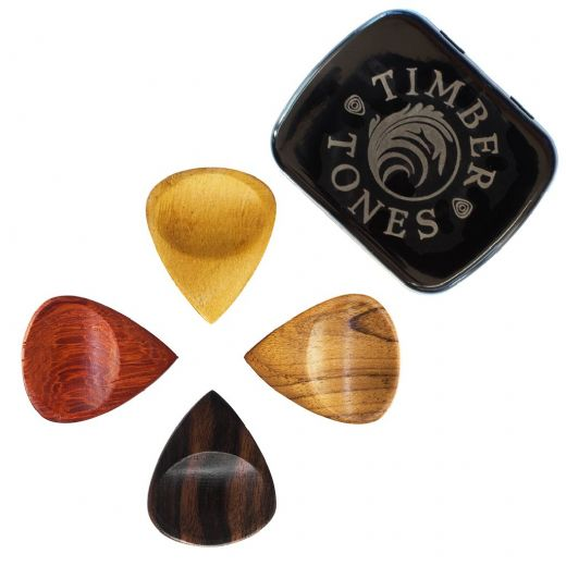 Groovy Tones Mixed Tin of 4 Guitar Picks